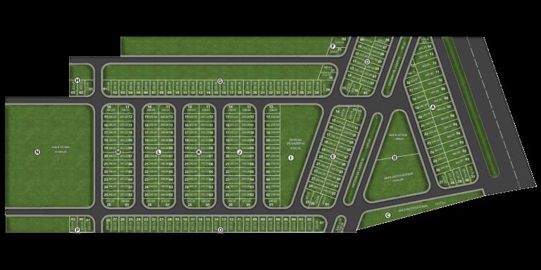 Loteamento com infraestrutura completa