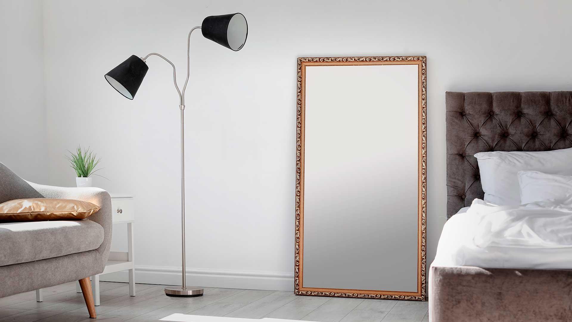 Como utilizar espelhos na decoração de um ambiente?