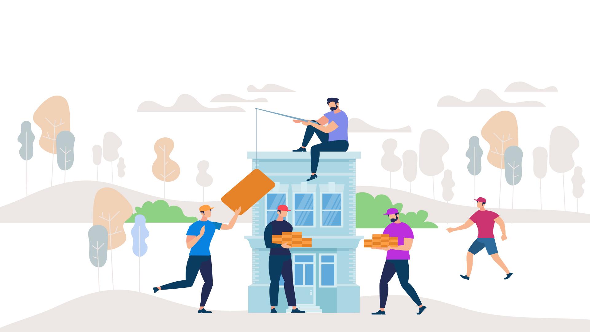 5 benefícios de comprar um terreno e construir a própria casa